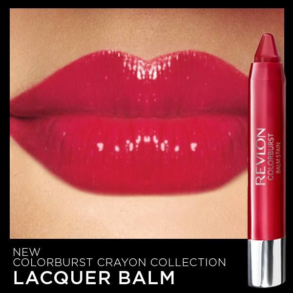 """Kickstart your weekend with a high-shine lip. This is Revlon's new ColorBurst Lacquer balm in """"Provocateur""""."""