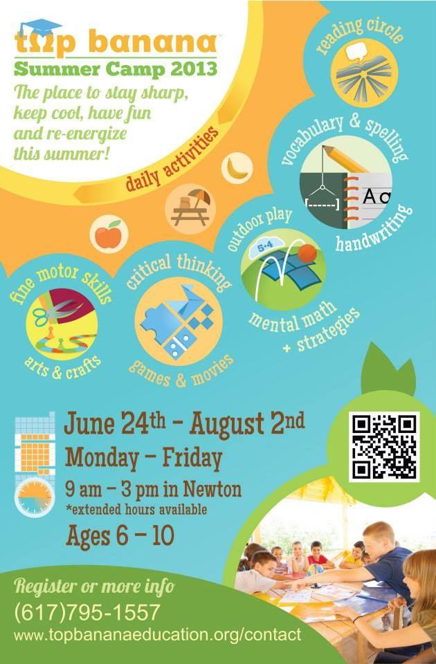 summer camp 2013 poster