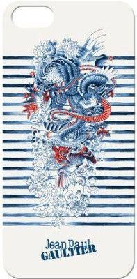 Iphone 5 5s jean paul gaultier tatoo mariniere blue mode j p gaultier addiction - Jean paul gaultier mariniere ...