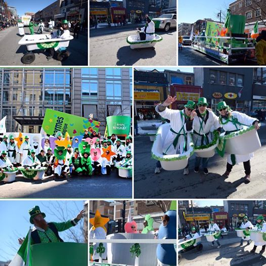 NEWS FROM MONTREAL: What a beautiful day we had during the parade of the saint-Patrick. Our Bath Fitter (Bain Magique) team is very proud to have won the prize for best commercial fleet for the 4th consecutive year. Thanks to the United Irish Societies of Montreal, to all those who came as well as those have participated in this 194th edition. We'll see you next year!  #bathfitter