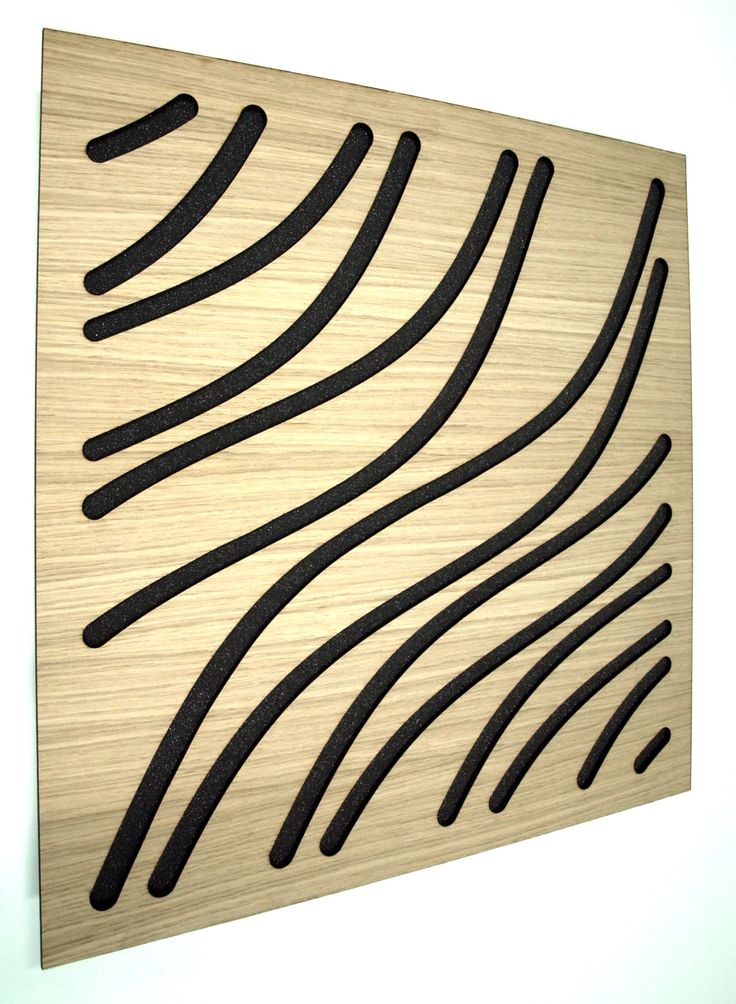 EliAcoustic Marine. The Elegance Of Wood, the acoustics of EliAcoustic.  4 Colors: black, white, cherry and old wood