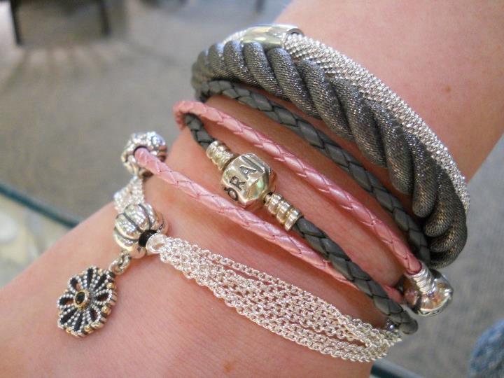 9 Best Pandora Multi Strand Bracelet Images On Pinterest