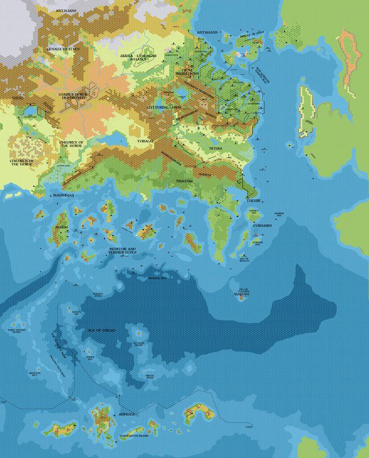 105 Best Fantasy World Maps Images On Pinterest
