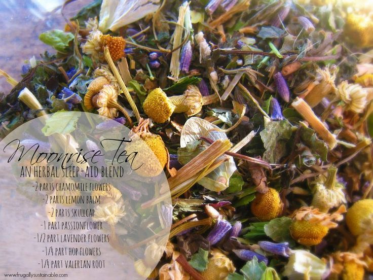 Moonrise Herbal Tea Blend - Sleep Aid Tea - Frugally Sustainable