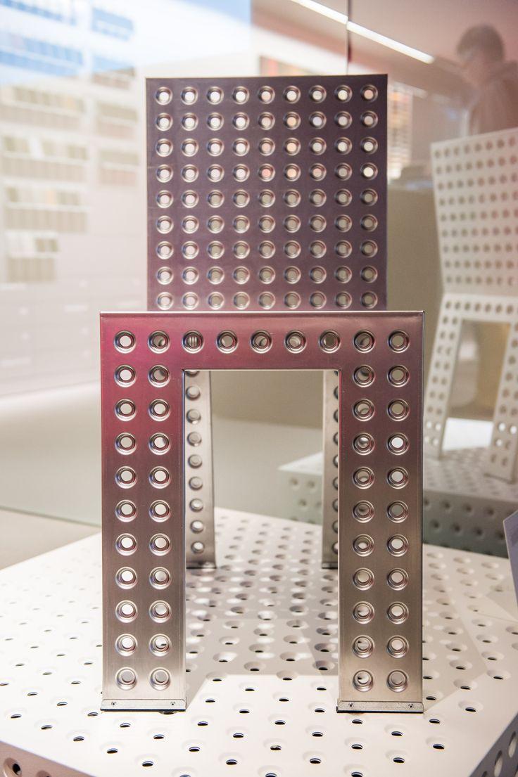 Zieta at #Audi Showroom Berlin 3+ Chair:  https://shop.zieta.pl/pl,p,27,96,_chair.html