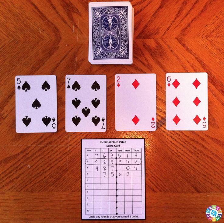 4 jugadores. Se quitan las figuras. El 10 vale 0. Se van sacando cartas y colocando el número en el lugar decimal o entero que quiera el jugador. Al completar el n° gana el que sea mayor