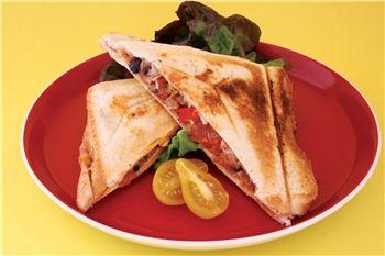 Pizza jaffle - Diabetes Australia