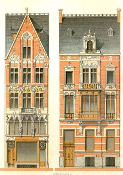 Details of Victorian Architecture. Викторианская архитектура в проектах. (Фото 7)