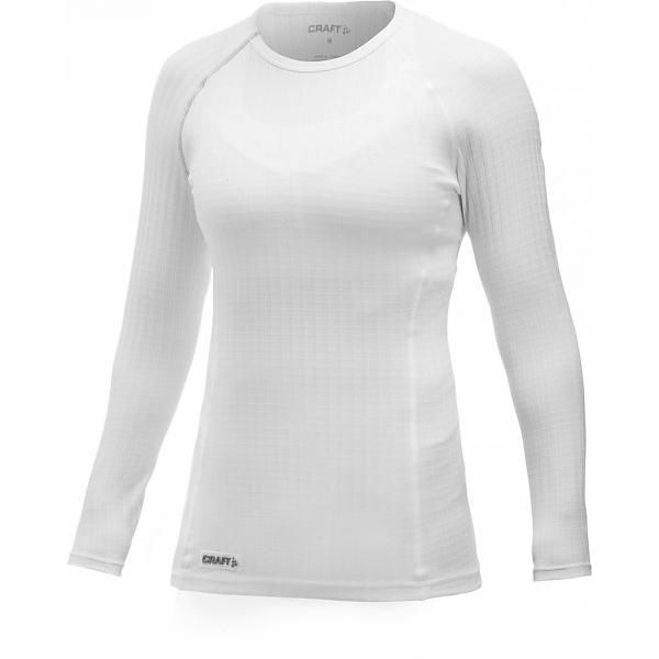 Thermoshirt Active Extreme RN Lange mouw dames wit