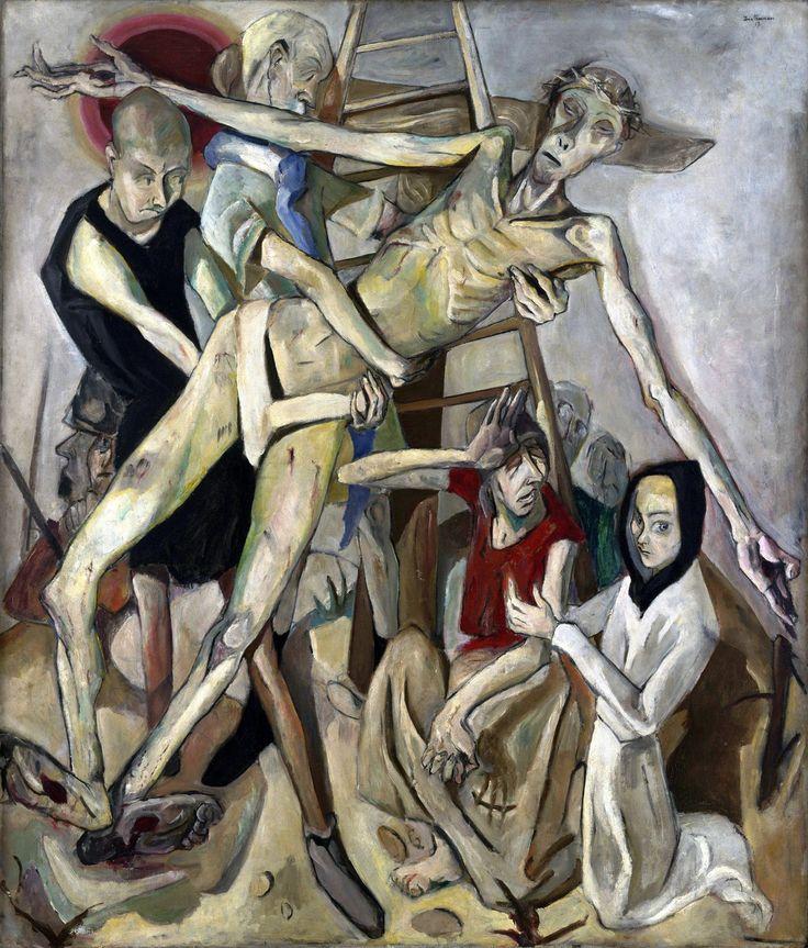 Max Beckmann: Descent from the Cross (1917)