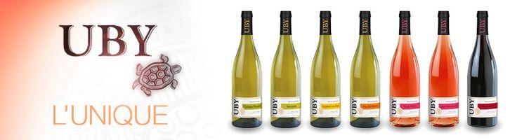 découvrez UBY vins de gascogne, bins bio, armagnacs http://www.plaisirsdegascogne.com/boutique/fr/domaine-de-uby