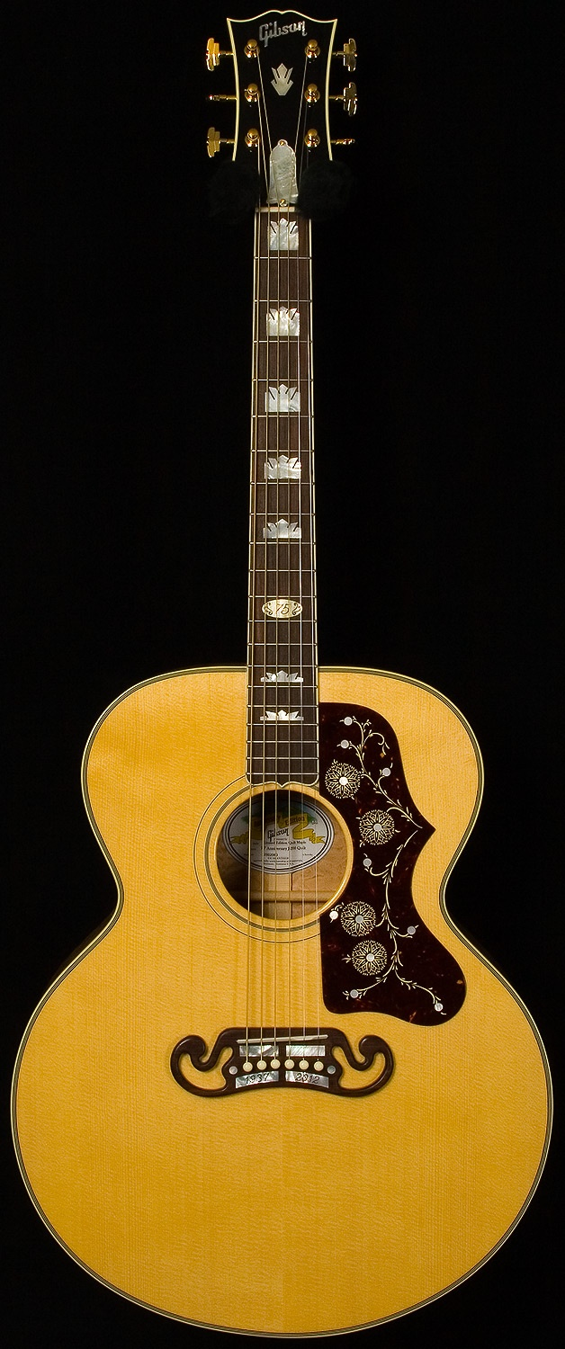 gibson acoustic - limited edition 75th anniversary j-200
