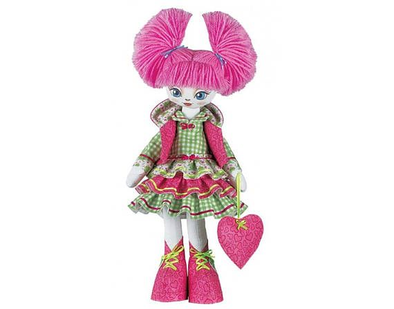 Doll Cutie Girl Doll sewing kit    Nova Sloboda Kit to make