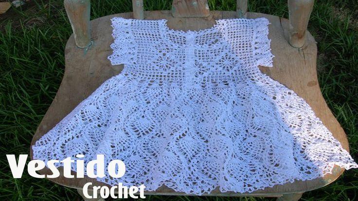Vestidos Para Niña Tejidos en Crochet Ganchillo