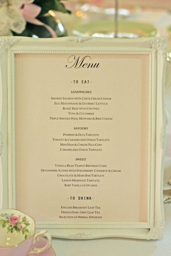 Best 25 Bridal Luncheon Menu Ideas On Pinterest