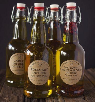 How to make infused olive oil - creative gift idea // Ízesített fűszerolaj házilag egyszerűen (kreatív ajándék) // Mindy - craft tutorial collection
