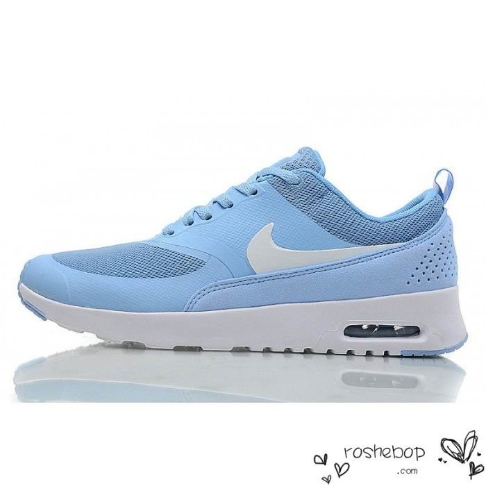 Nike Air Max Thea Womens Light Blue White