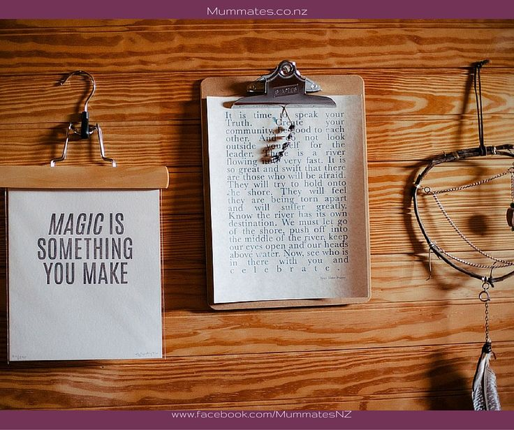 Make your own magic.....