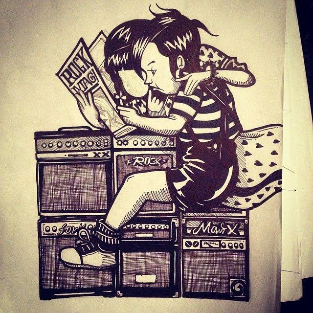 """""""Silabario del rock"""" by kartess"""