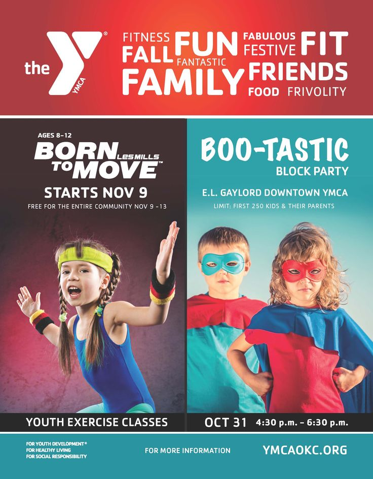There is so much going on for kids at the Y. Check out our