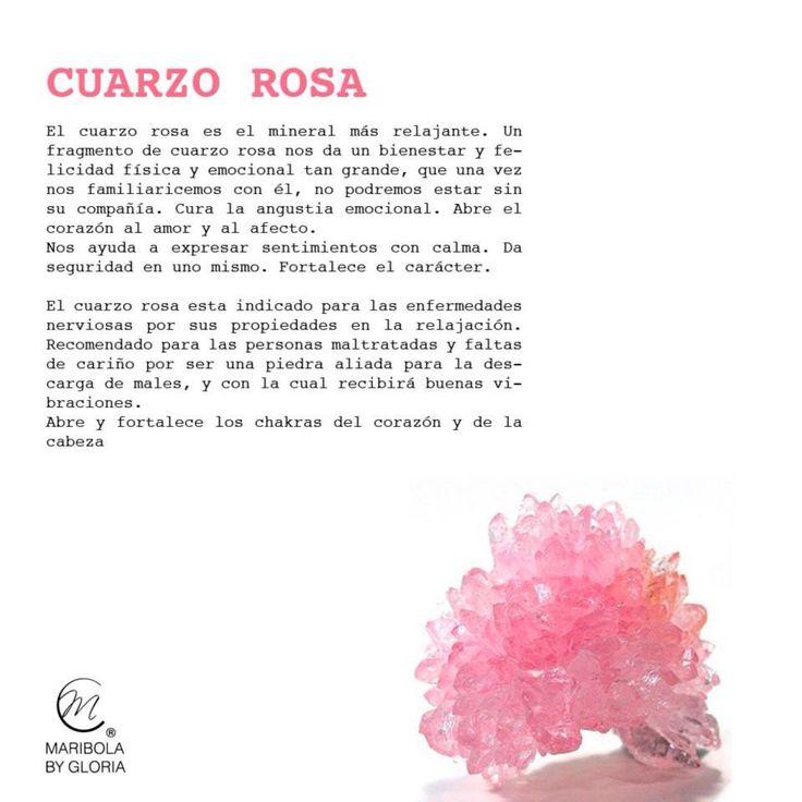 Aprendemos sobre el cuarzo rosa.  Copyright: maribolabygloria.com