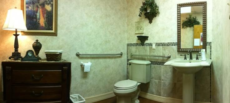Commercial restroom remodel.