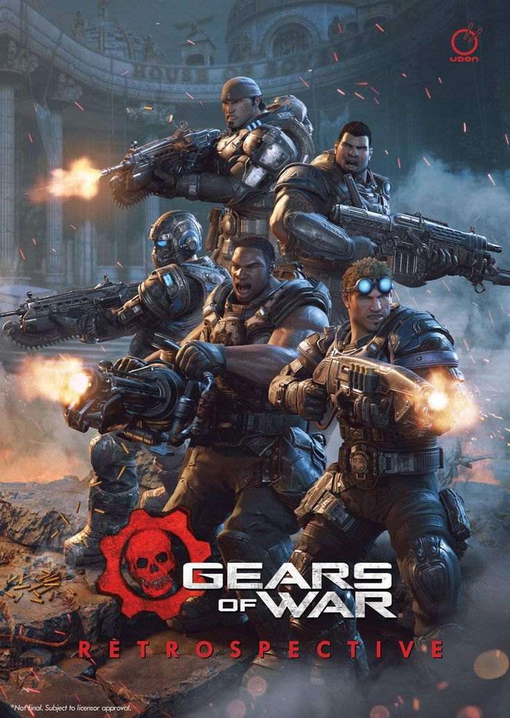 Gears of War: Retrospective Hardcover – April 23, 2019,#