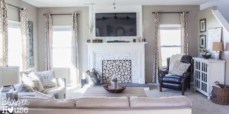 50 besten tv wand bilder auf pinterest kamine k nstliche kaminumrandungen und zauberstab. Black Bedroom Furniture Sets. Home Design Ideas