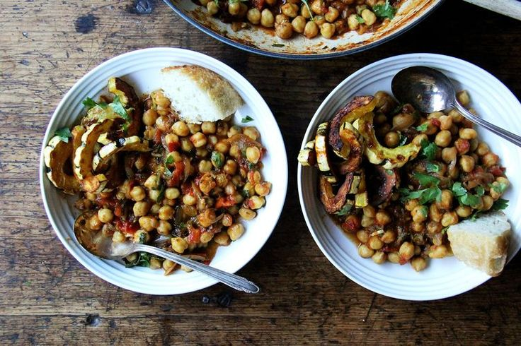 """Stewy Chickpea """"Tagine"""" with Tomatoes, Cilantro and Golden Raisins recipe on Food52"""