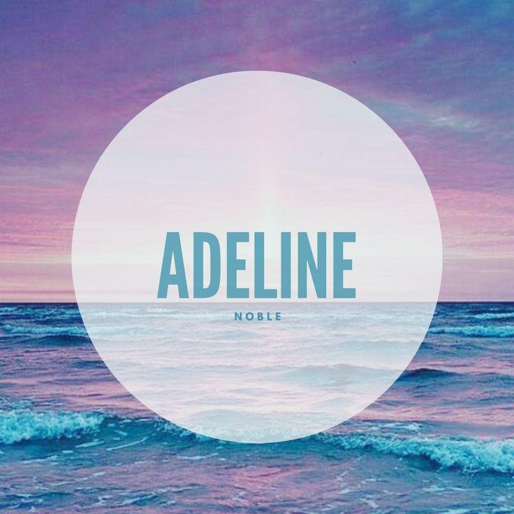 Adeline #Names #BabyNames #Adeline | Baby names, Names ...