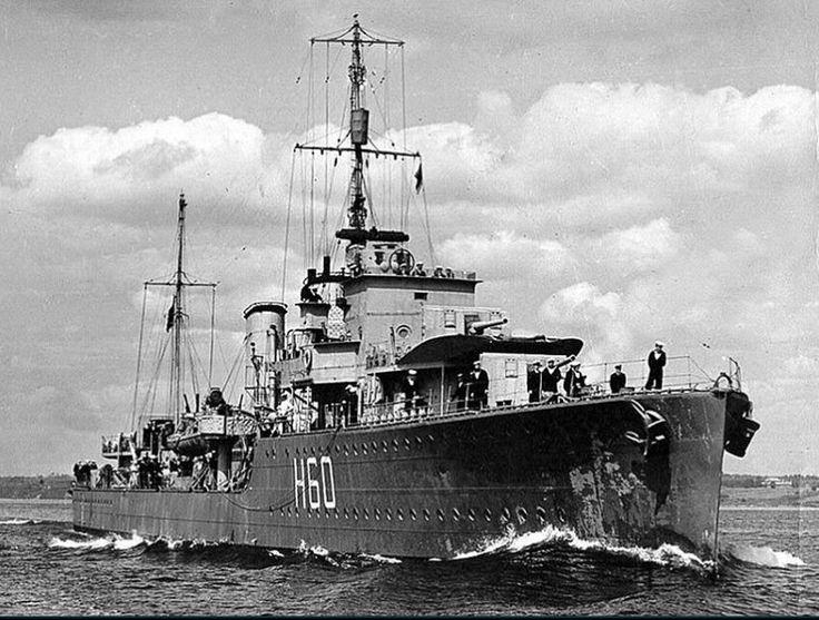 HMCS Ottawa H60