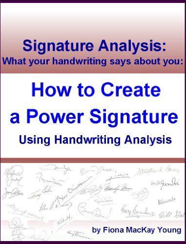 Women s signature handwriting analysis
