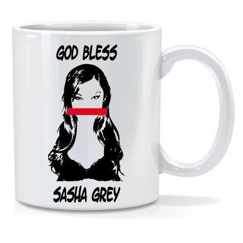 Tazza personalizzata God bless sasha gray