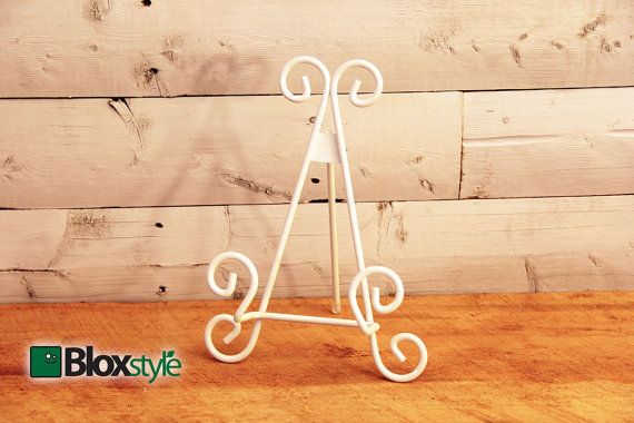 White Display Stand/Easel For Cutting Board  Cutting Board Stands, Cutting  Board Easel, Cutting Board Display Stand, Table Top Display