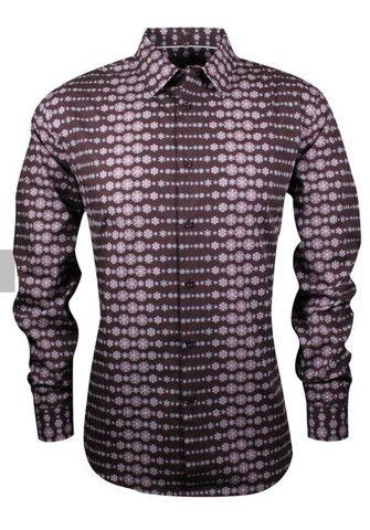 Cutler LS Casual Shirt CW 20462 Port