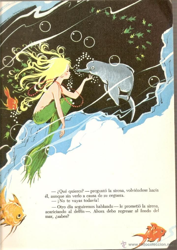 LA SIRENA CIEGA - CUENTOS DE TODO EL MUNDO SERIE B - MARIA PASCUAL - Nº 8 - AÑO 1.974 (Libros de Lance - Literatura Infantil y Juvenil - Cue...