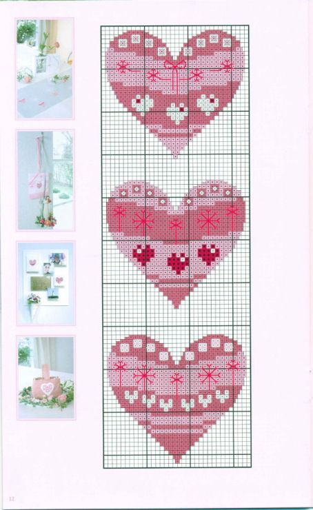 424 best Hearts images on Pinterest | Heart, Lavender and Fabric ...