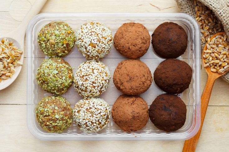 Four Ways With Energy Balls