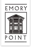 Welcome to Emory Point, a mixed-use development located in the historic Druid Hills neighborhood of Atlanta, close to the CDC, Emory University, and Emory Healthcare.