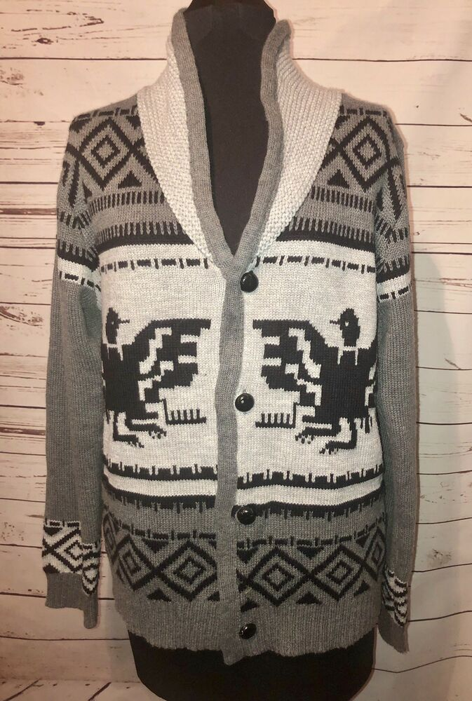 Big Lebowski Sweater The Dude Sweater Cowichan | Etsy