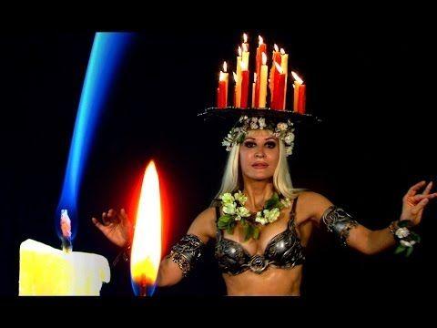 "Ritual dance: ""Illumination"" - music video / bellydance - Neon, Jenna Rey, Angelys #dance #bellydance #bellydancing #bellydancer #ritual #templedance"