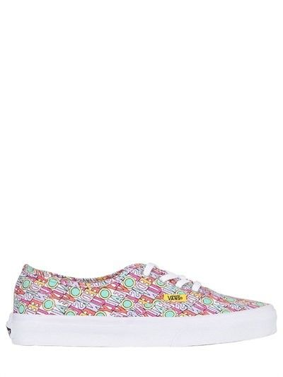 VANS ALL YOU NEED IS LOVE CANVAS SNEAKERS