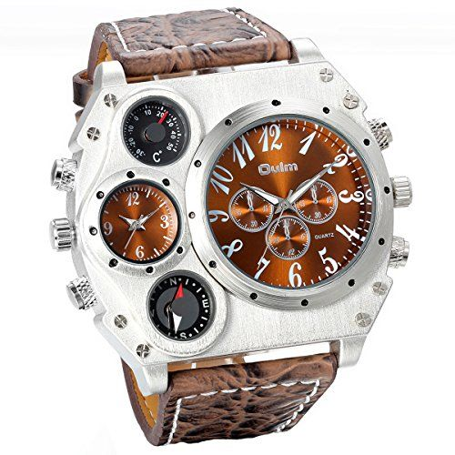 JewelryWe Montre Homme d'Affaire Sport Grand Cadran Deux ... https://www.amazon.fr/dp/B010DDZOR2/ref=cm_sw_r_pi_dp_x_HcIwyb9EQAQ84