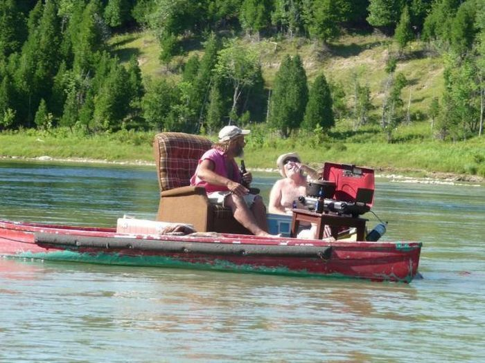 21 Best Redneck Boating Images On Pinterest Pontoon