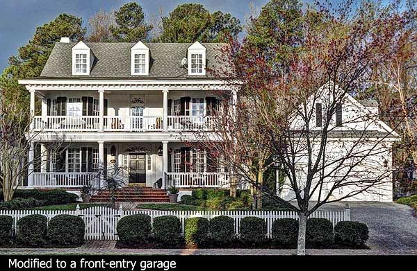 Traditional, Plantation Style, Southern, Country home