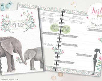 Pregnancy Organizer Set Pregnancy Planner by FreshandOrganized