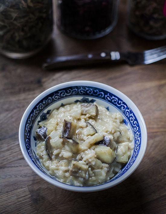 Nigra w kuchni: Risotto z bakłażanem