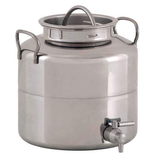 We Carry 5 Gallons Of Water In A Stainless Steel Water Container For Drinking And Cooking On Our Family Countertop Water Dispenser Water Containers Steel Water