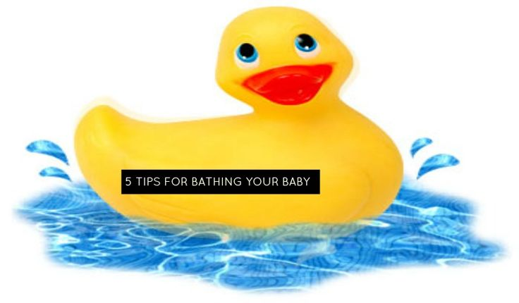 Top 5 Tips For Bathing Your Baby