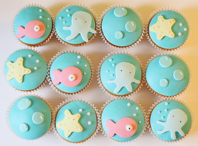 These are super cute and would suit an Under the Sea party or even a baby shower!